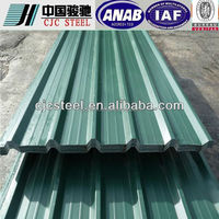 professional design prepainted steel sheet used metal roofing sale low price made in China