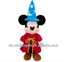 Christmas Toys plush stuffed Sorcerer Mickey Mouse 24'' for kids