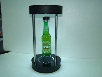 Best china supplier wholesale customized high quality led acrylic display stand acrylic wine rack