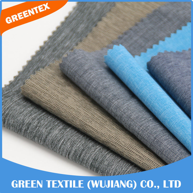 BSC2 cationic polyester 4 way stretch elastic clothing material