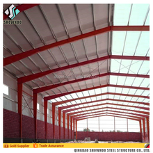 China Prefabricated Light Steel Structure Warehouse In Europe