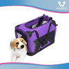 High quality folding soft pet crate, pet carrier, Fabric Foldable soft dog carrier