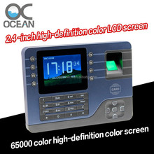 Biometric/Rfid Time Attendance System, TCP/IP finger print machine OC058-13