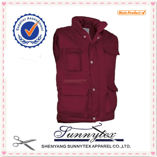 SUNNYTEX functional OEM High quality outdoor fancy pictures of vest for women