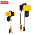 SG type CE single phase 500kg small electric chain hoist for warehouse use