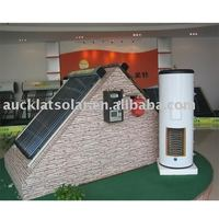 Solar Energy Water Heater--Split Pressurized Active Closed Loop System