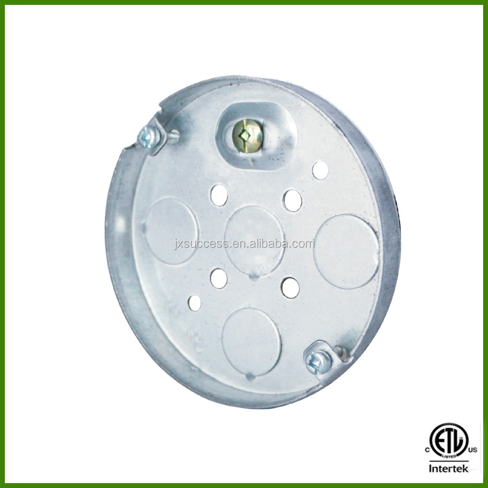 CETL listed 4 inch electrical Round Pancake Box