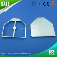 Custom SMT cupronickel precision metal shielding covers for mobile phone