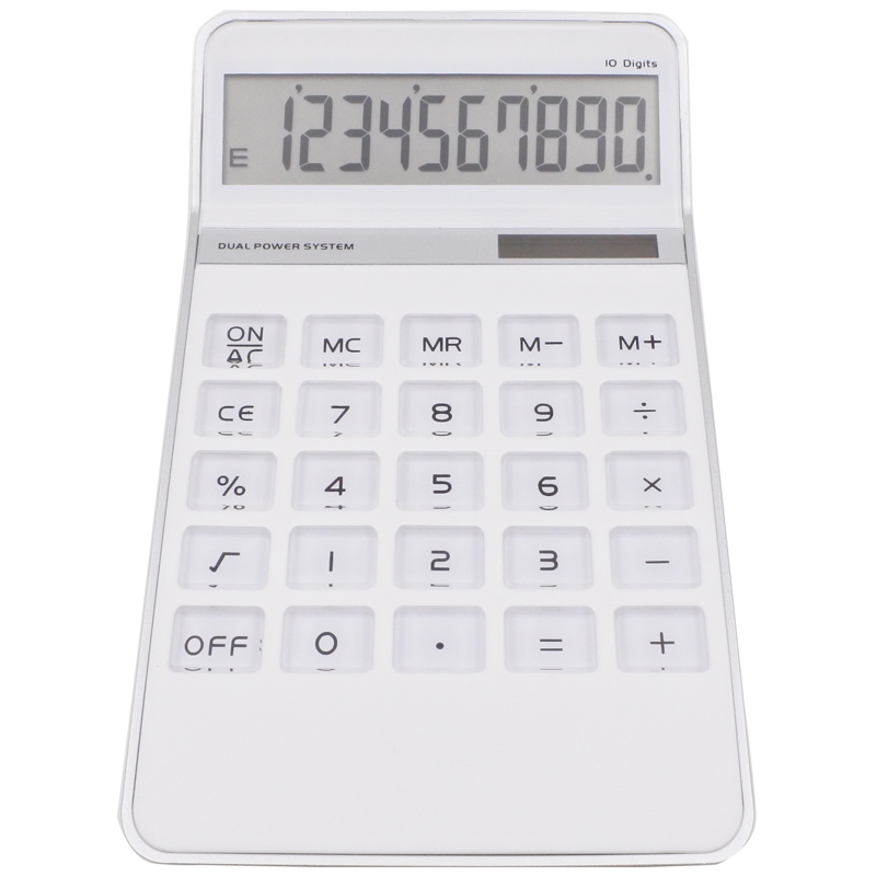 Y-1129 dual power 12 digits electronic fancy gift calculator promotional
