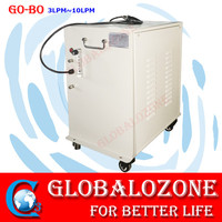 Low noise oxygen concentrator generator machine with air compressor