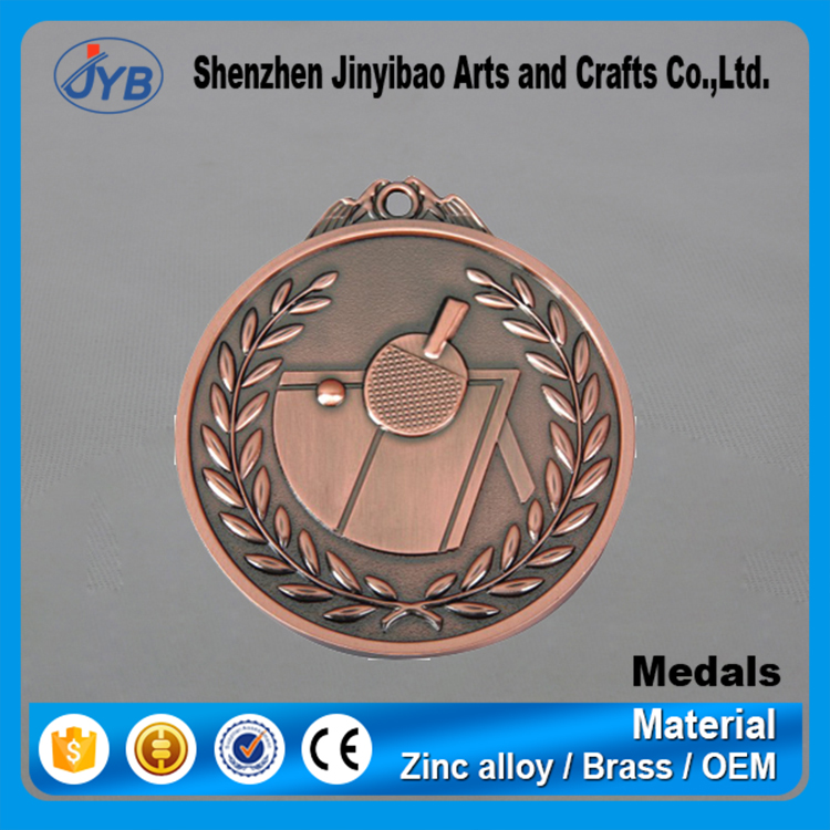 Custom Medal Product Typaward medals with ribbon bar e and Europe Regional Feature elegant