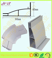 Ultra thin series aluminum alloy profile frame for single-sided fabric advertising light box