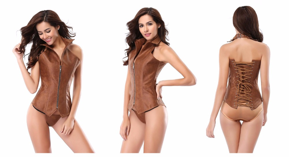 leather Bustiers and Corsets