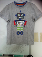 100% cotton embroidery children's T shirt