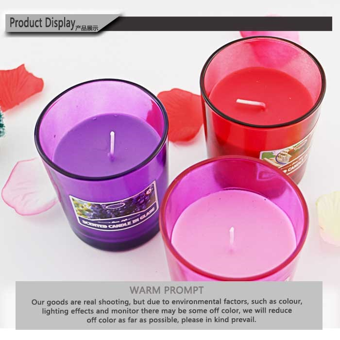 The most hotsale jar type decorative wholesale scented soy for Different brands of candles