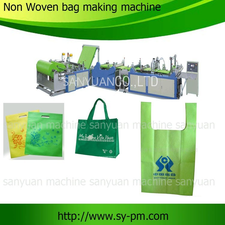 2013 china automatic gift paper bag making machine
