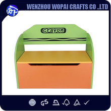 Lovly Export wooden toy saving box for children wood gift box for baby wood desk
