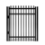 China supplier Low Carben Steel Garden Security Fence, Plastic Garden Security Fence,Decorative Garden Security Fence