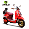 2015 China cheap price frosted color electric scooter with 48V20ah 800watt motor and soft seat with rear box for adult