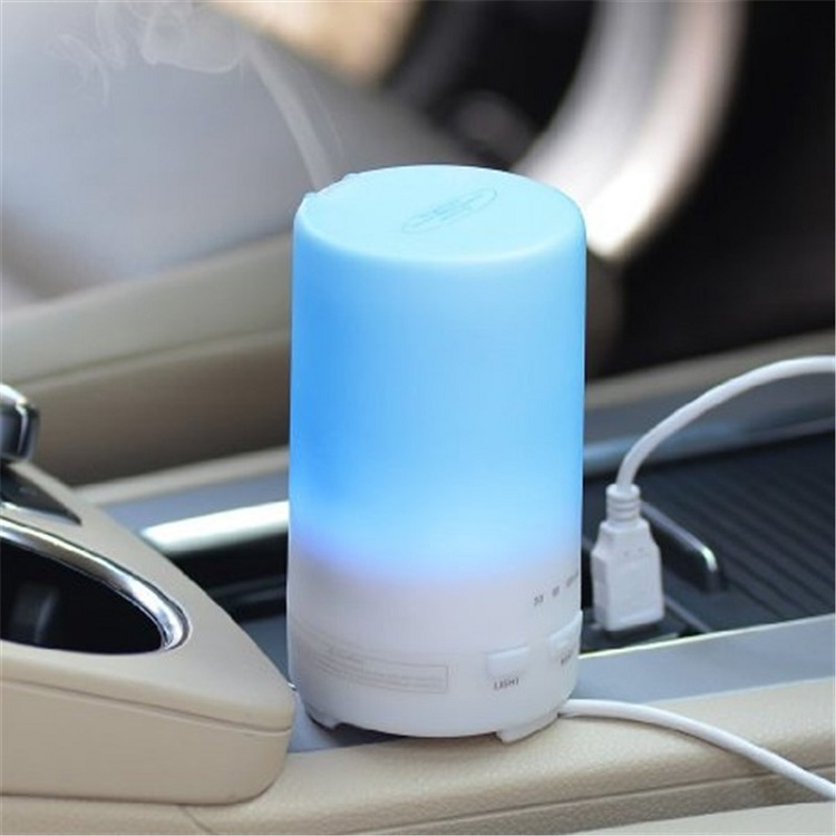 USB Electronic Oil Diffuser Cool Mist Air Freshener Aromatherapy Humidifier for Car