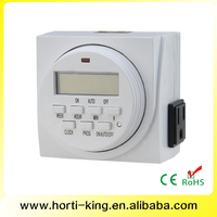 Digital timer switch programmable