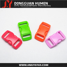 40% discount plastic curved breakaway buckle for pet collar