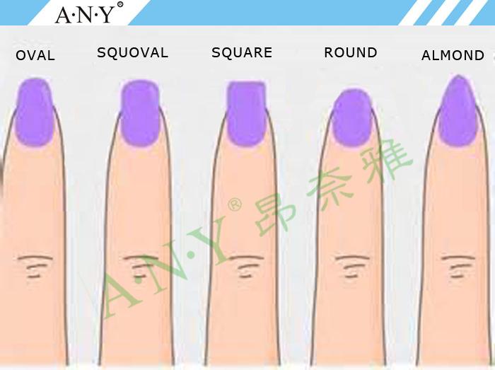 Professional Nail Art Manicure Sponge 4 Step Buffer Shining