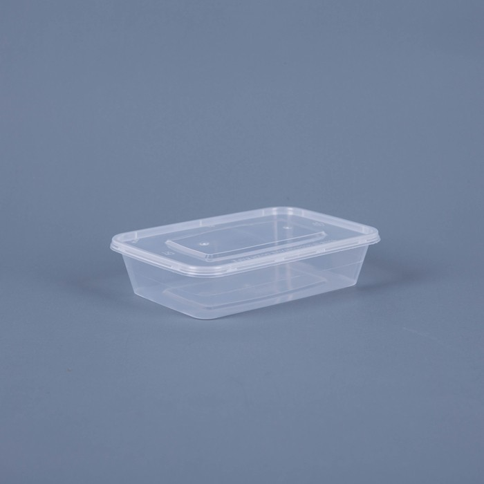 Disposable takeaway hot box food container