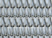 Well-knit Wire Mesh Conveyor Belt 4*4mm Factory Sales