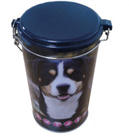 dog food tin can