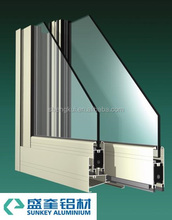 Powder Coating 808 Sliding Window Aluminum section windows Aluminum Profiles