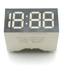 GYX OEM white color prayer time display for clock