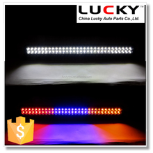 Excellent Quality RGB led warning light bar 300w led flashing light bar with aluminium heat sink