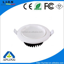 4inch 9W round mini recessed led ceiling light