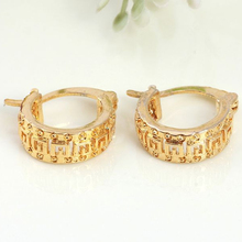 Trendy gold souk dubai manufacturer diamond wedding dress earrings
