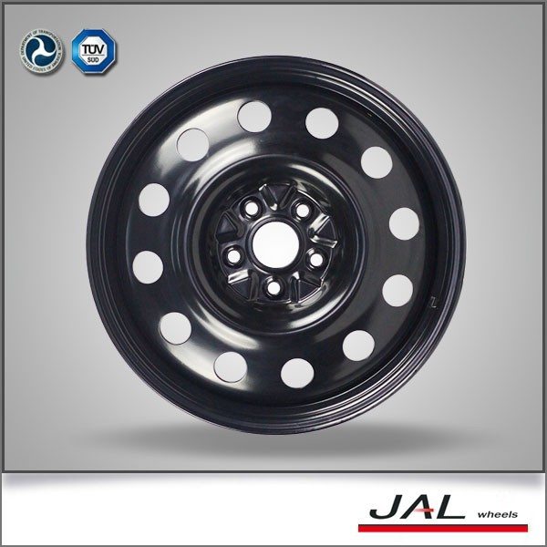 18 inch black steel winter rim wheel for car