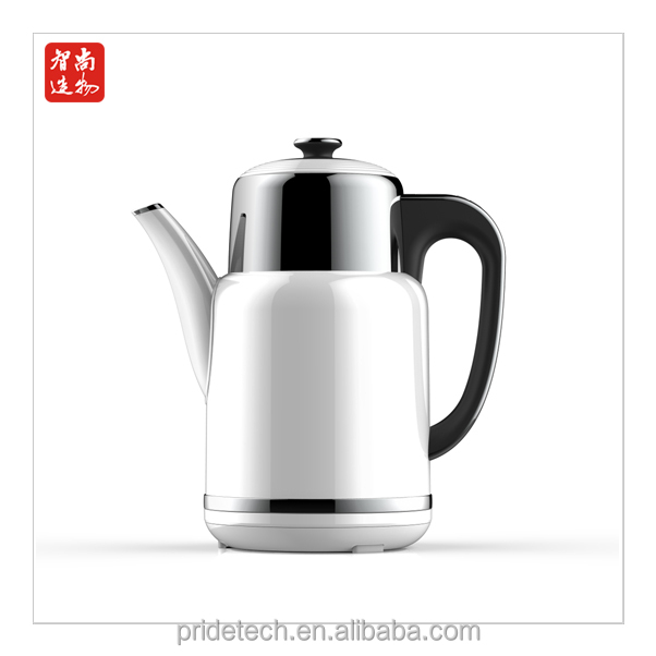 1.7L litres wholesale hot sale plastic and stainless steel body electric kettles hot boiling water tea thermos jug flask