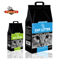 High quality new arrival latest design 3.8l silica gel crystal pet litter cat litter sand oem