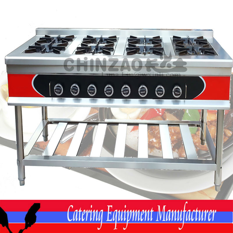 Gas Range Commercial Cooking Equipment GZL-8W