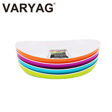 Hotel item plastic food tray fruit served customized lunch plate