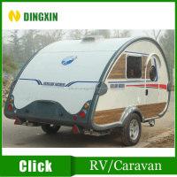 Small size off road travel trailer/Mini Caravan camper