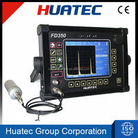 FD350 Defectometer 0-10000mm, automated gain, IP65, UT, NDT, portable ultrasonic weld test equipment testing