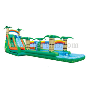 inflatable long slides,commercial inflatable bouncer,nice and cool slides in summer for adults G4094