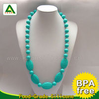 Non-toxic BPA Free Rubber Necklace ,2013 Free Rosary Bead Necklace