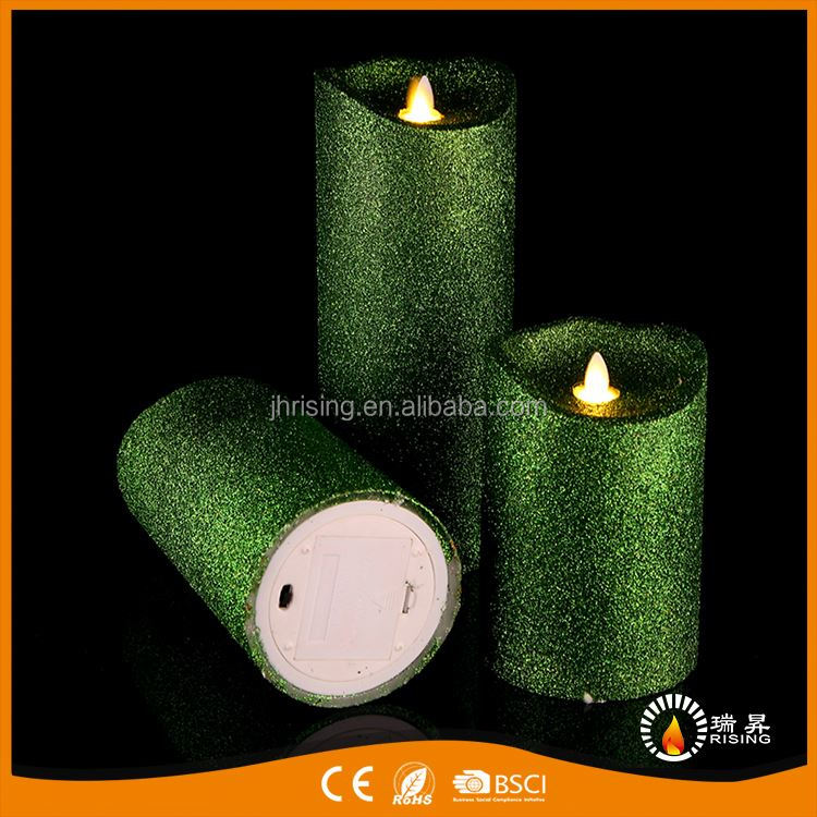 Newest European trendy style vogue wick led candle light manufacturer sale