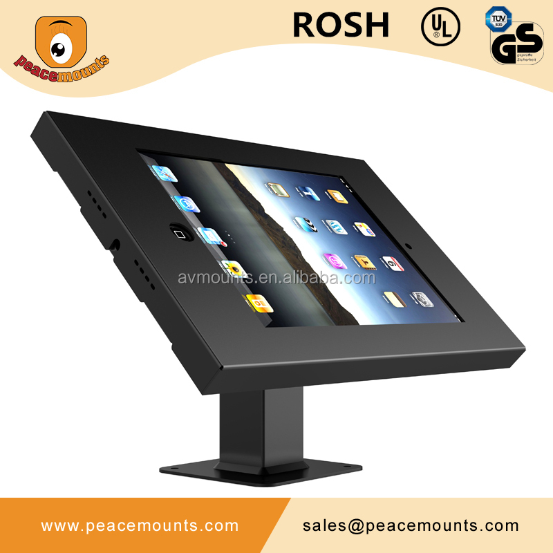 IPA-1 Custom design vesa max up to 100 and 100 universal pos vesa tablet mount
