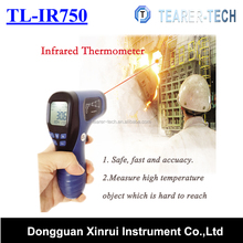 Infrared Ear Thermometer ir thermometer no contact digital clinical thermometer -50 to 750C for industry