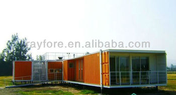 The field prefab container houses for holiday