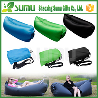 2016 new products inflatable sofa fast fluffy sleeping bag