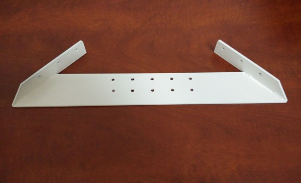 "Adjustable metal bracket for single round flowerpot 10"" to 19"""